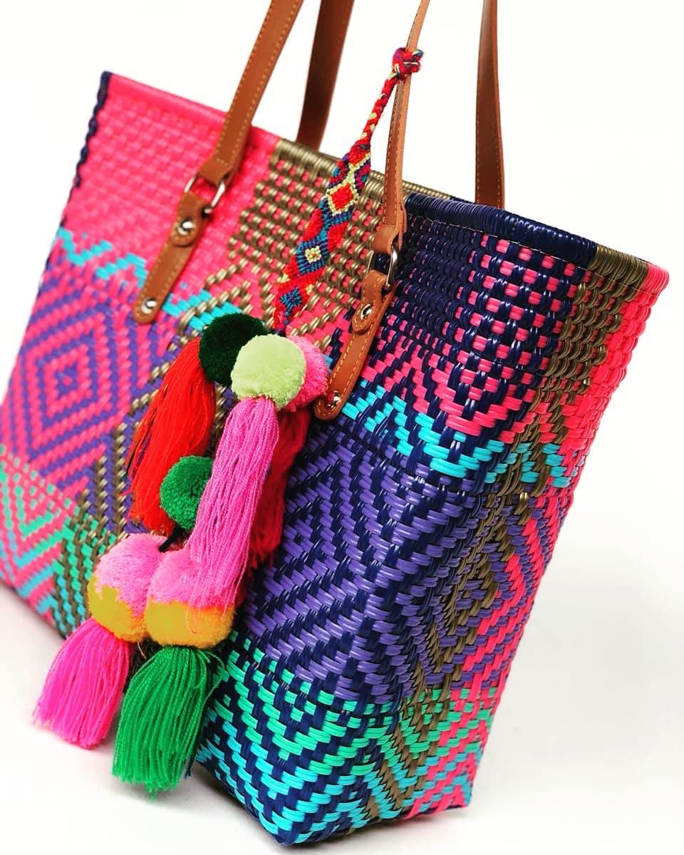 Bolso artesanal para el verano de Lanina