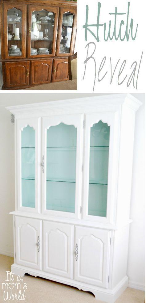 Ideas para pintar una vitrina: antes y después