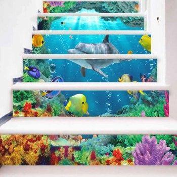 Vinilos para decorar la escalera