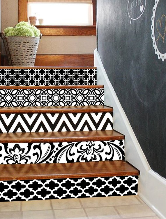Decorar la escalera con estilo