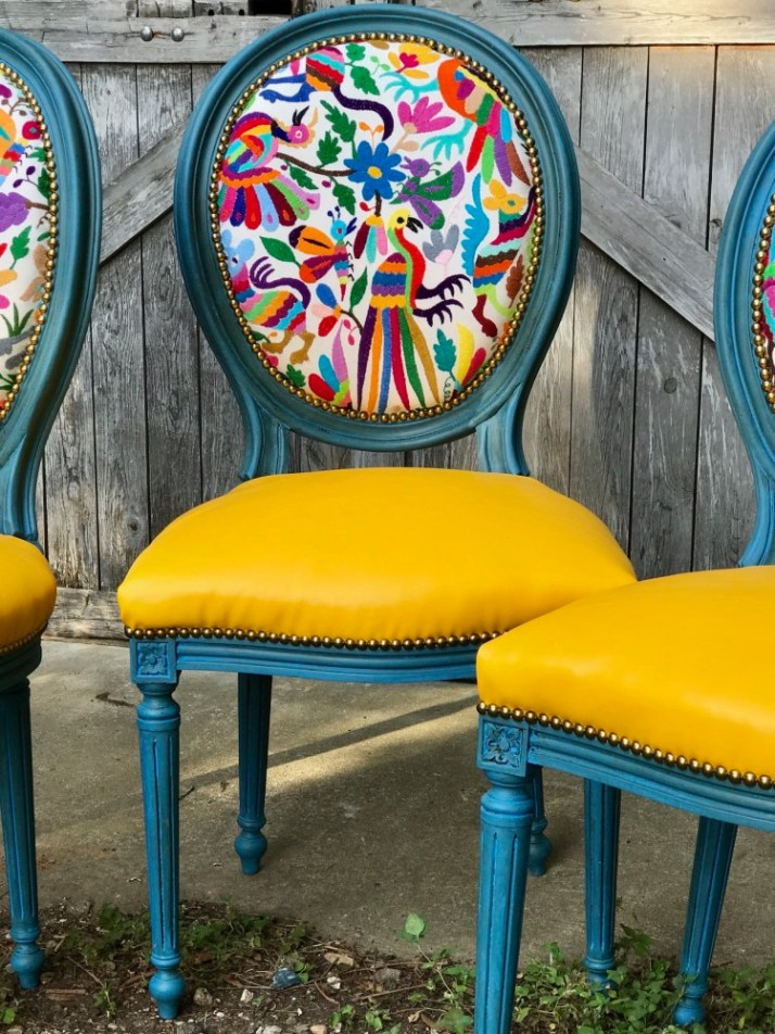 Restaurar sillas tapizadas
