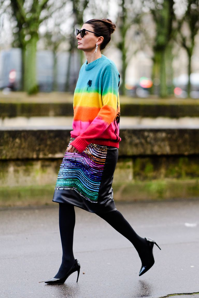 Street Style Paris fashion week-Giovanna Battalia/Imaxtree