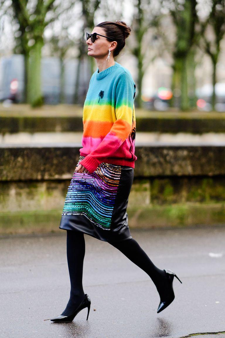 Street Style Paris fashion week-Giovanna Battalia/Imaxtree