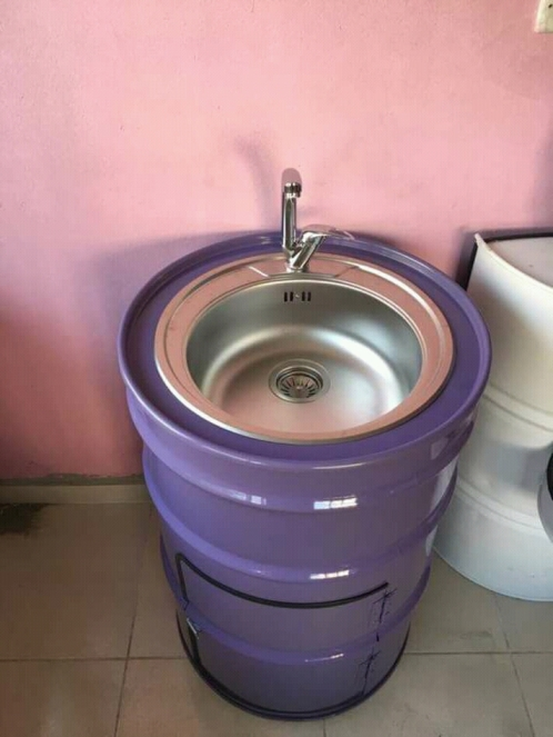 lavabo-con-materiales-reciclados