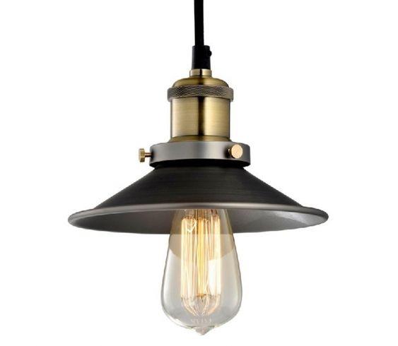 Lámpara vintage de estilo industrial