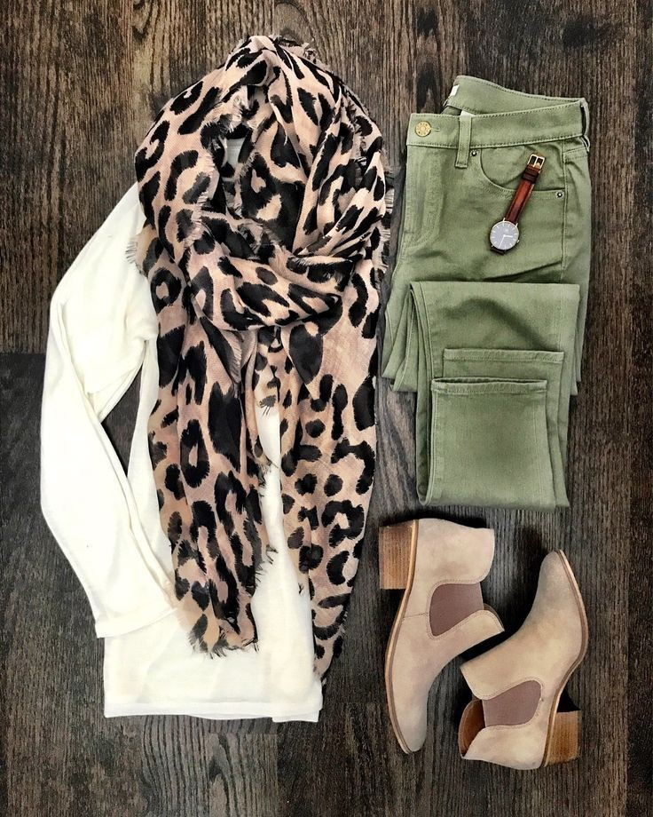outfit-con-foulard-animal-print
