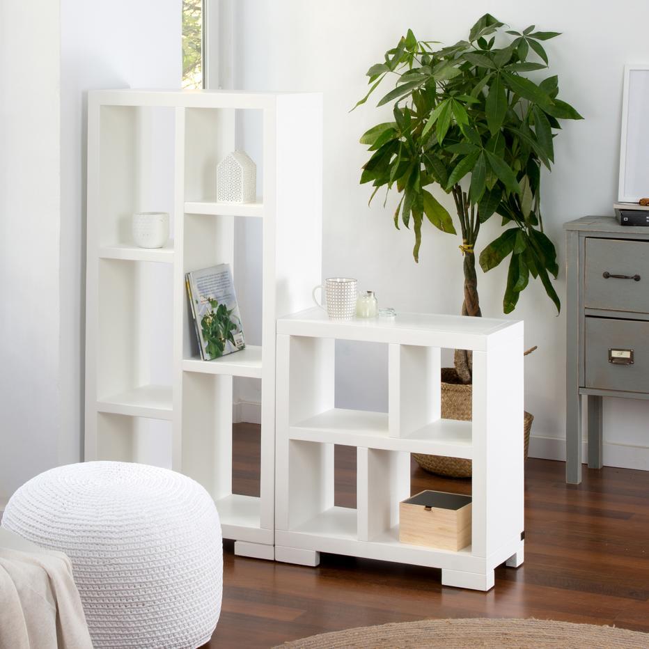 estantería-de-madera-blanca