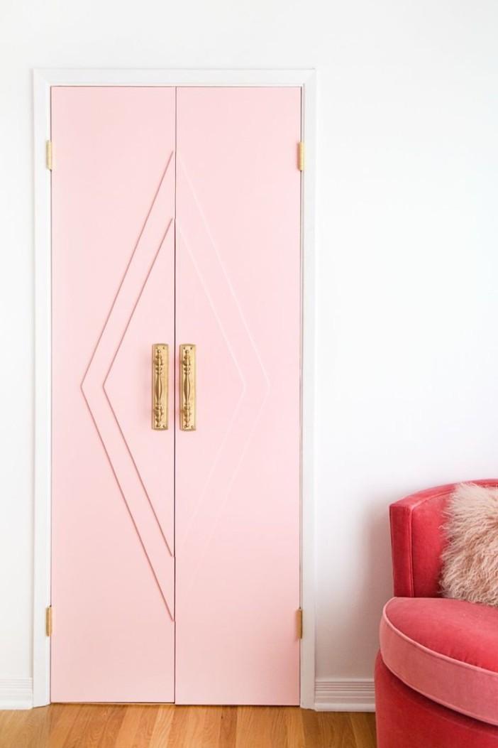 puertas-de-armrio-o vestidor-en-rosa