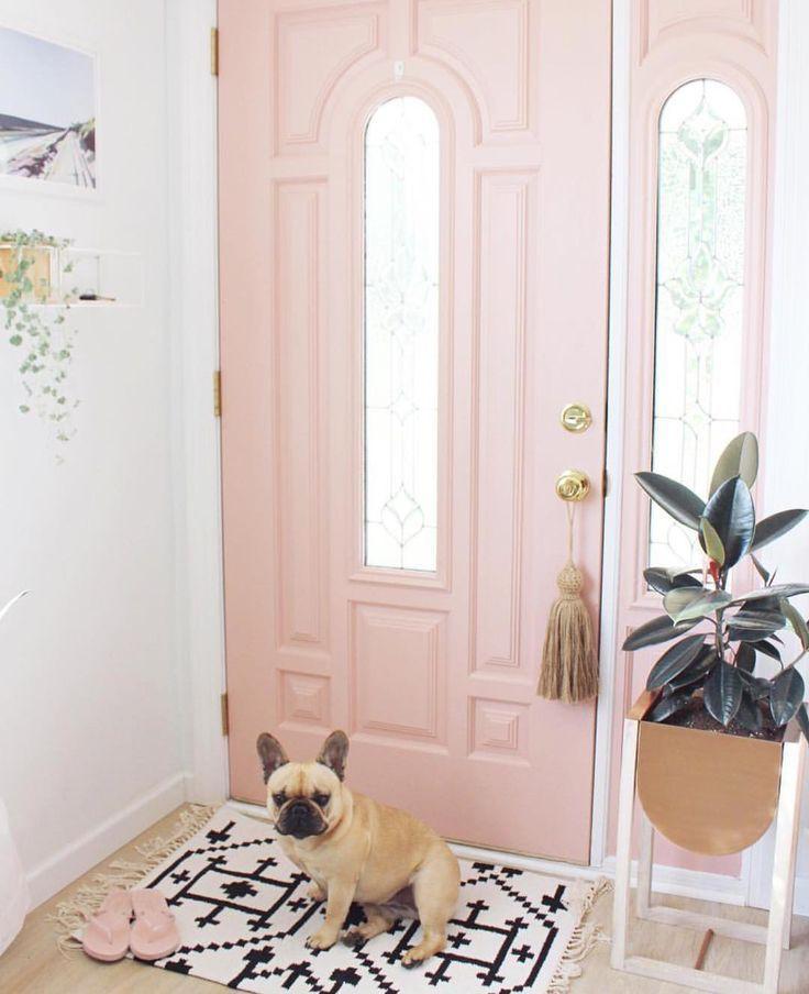 cómo-pintar-la-puerta-de-entrada