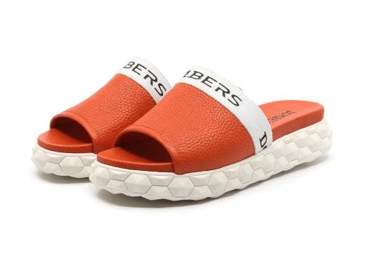 sandalias-planas-naranjas-verano-2020